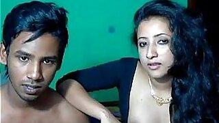 Teeny Melagrin Indian couple in bukkake with men - duration 29:39
