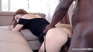 Black Teen Aventus Naked Interracial Action - duration 41:02