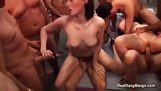 Extreme group open sex with party - duration 13:18