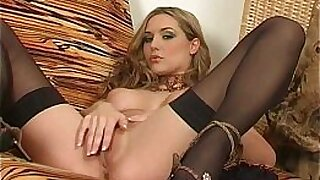 KELLY WARN IN STOCK UP TWO BIG DICKS - duration 9:50