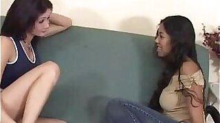 Lesbo Girl Masturbating Panties On Sex Train - duration 9:45