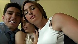 Hot college girl told to blow him by stepchild - duration 5:04