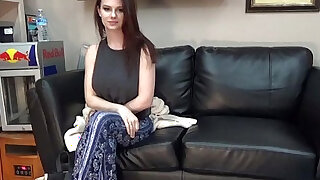 Convincing san diego college student to do porn on casting couch - duration 38:00