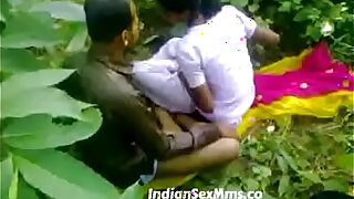 Young couple fucking whore in India forest new - duration 7:00