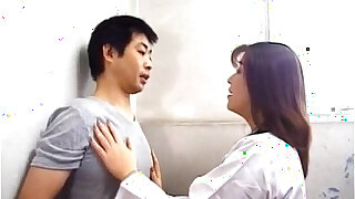 Yuko Tachibana has cum pouring from mouth after sucking boner - duration 10:00