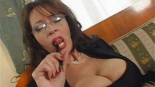 mature busty secretary sex - duration 25:00