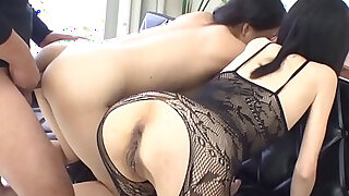 Oriental cowgirl riding and anal toying - duration 5:00