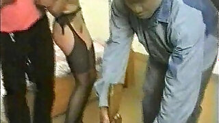 Pretty Wife Blackmailed By Masked Gang After Giving Oral To Husband cuckold - duration 1:1:00