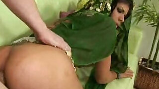 Sexy dark haired indian chick gets butt filled with a big cock Porn tube - duration 2:00