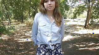 shy teen does porn casting - duration 6:00