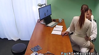 Super hot patient bangs doctor office - duration 7:00