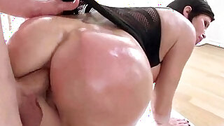 shay fox Big Butt naughty Girl Oiled And Hard cock Deep Nailed clip - duration 7:00