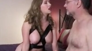 Wife Slaved her Husband for Bisex - duration 24:38