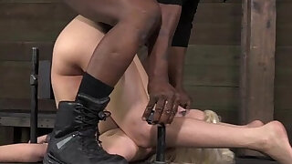 BDSM slave Cherry Torn butt destroyed - duration 6:00