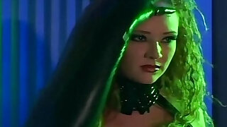 Redhead fucking in gloves and a latex uniform - duration 6:00
