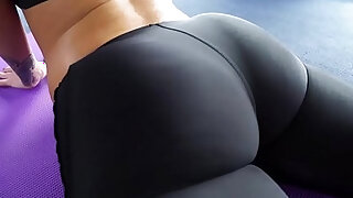 Big Round Ass Jada Stevens Takes Big Cock After Yoga - duration 5:00