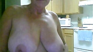 Solo of sex addicted Granny from Australia - duration 12:00