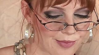 Marie McCray Solo solo, toy, masturbate, pornstar, hd,   glasses - duration 13:00