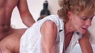 Sensual Hairy Granny Madie Mccrea - duration 9:00