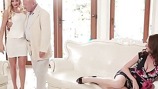 Babes Step Mom Lessons Viktor Solo Candee Licious Nadia Bella Face Off - duration 8:00