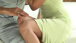MOM MILF fingered and fucked in the fresh air - duration 11:00