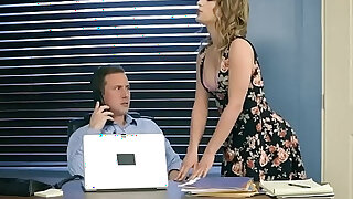 Intern fucks his MILF bosses stepdaughter and her too - duration 7:00