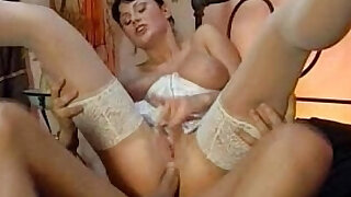 Two couples fucking in lingerie Karma e Nicole Tylor - duration 4:00