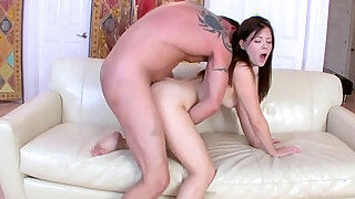 Alison Rey fuck by her step dad sideways drilling her pussy - duration 6:00