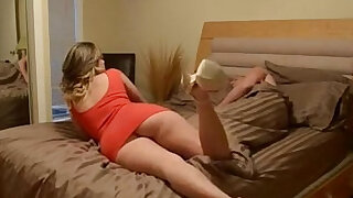 Step sister wants a foot rub - duration 13:00