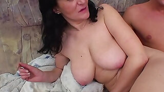 Busty Mother Fucking Son - duration 0:00