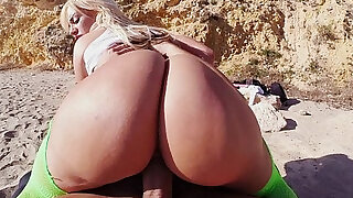 Blonde wife with Huge Rack and Huge Ass - duration 5:00