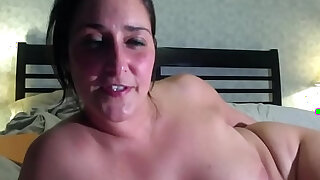 She enjoys a big, black, ribbed vibrator up her dripping ass - duration 19:00