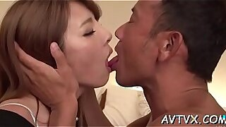 Japanese slut scene spooning with craves, puns and cocks - duration 5:48