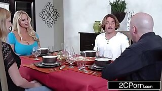 MILF and daughter having a funny time - duration 8:36