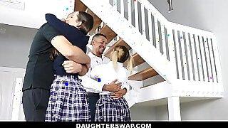 Girl fucks daddy by school - duration 10:35