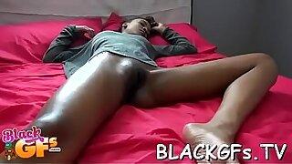 Busty babe closeup spitroasted till she shoots cum - duration 6:56