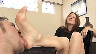 Foot fetish lesbians dancing in a theater - duration 5:33